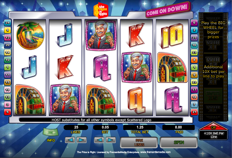 The Price is Right Slots - Play Free Freemantle Games Online