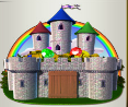 rainbow king castle