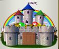 rainbow king castle