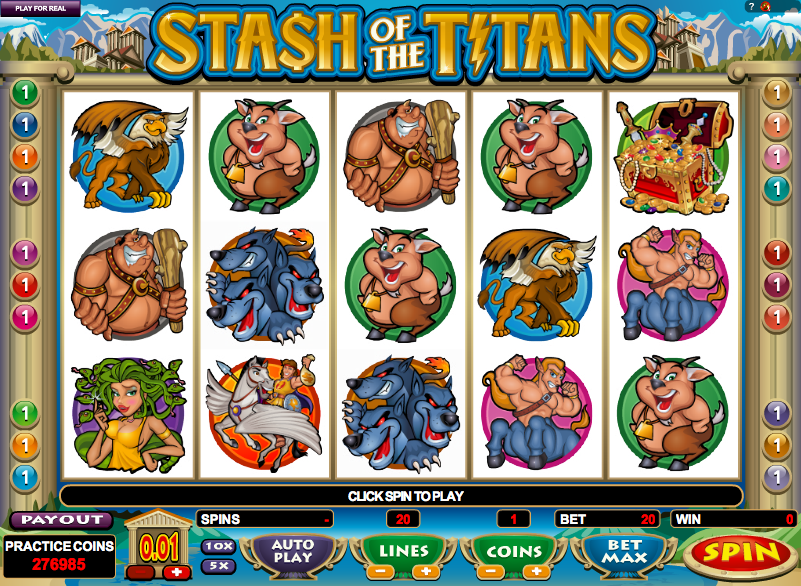 Troll's Stash Slot Machine - Play this Game for Free Online