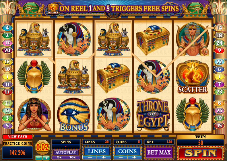 Throne of egypt slots real money us poker sites