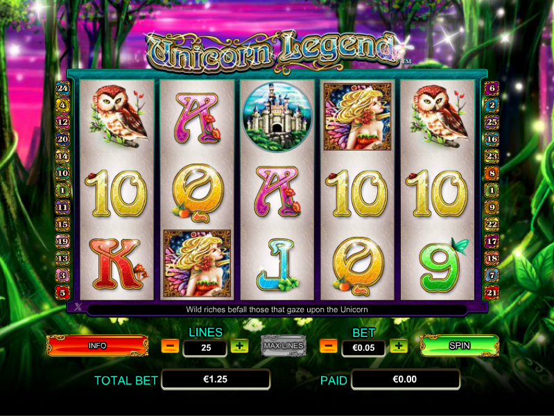 unicorn legend slot