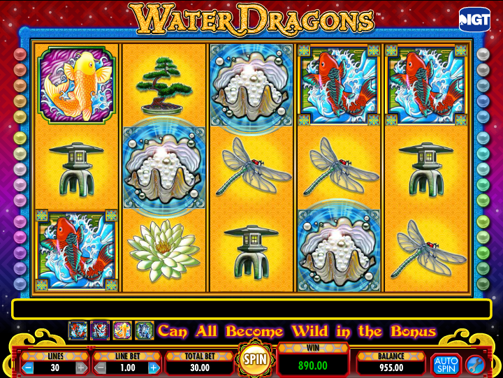 water dragons screenshot