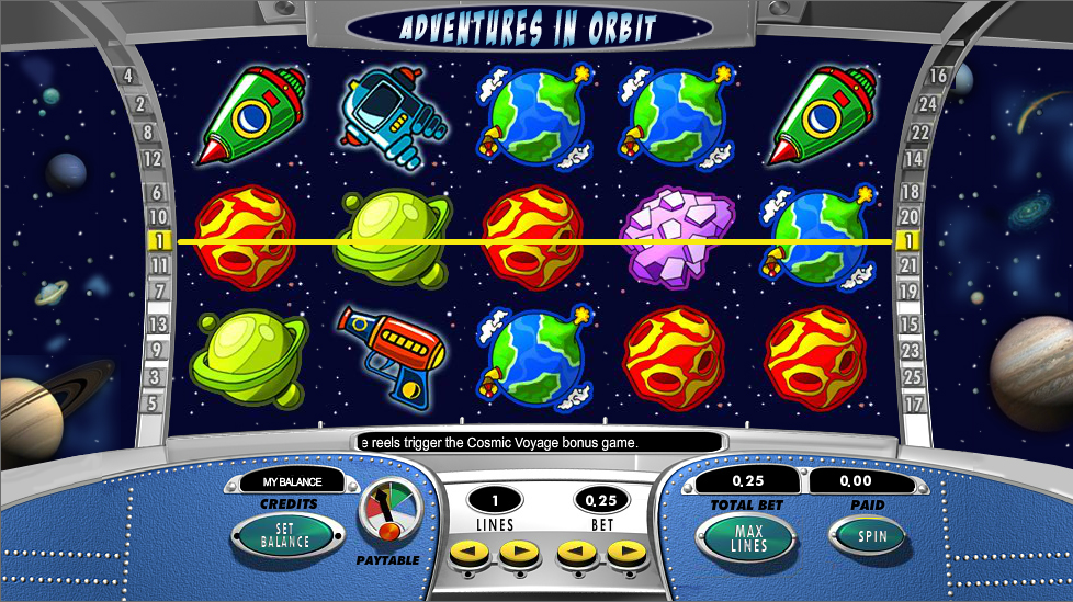 adventures in orbit slot