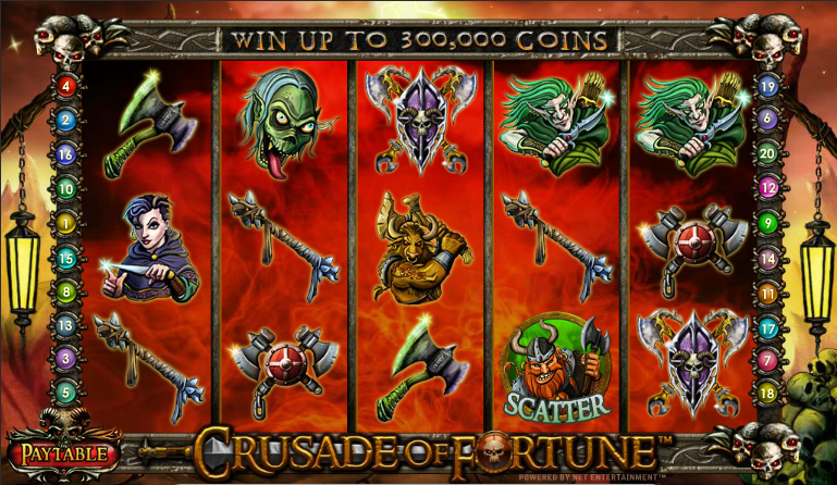Crusade of Fortune™ Slot Machine Game to Play Free in NetEnts Online Casinos