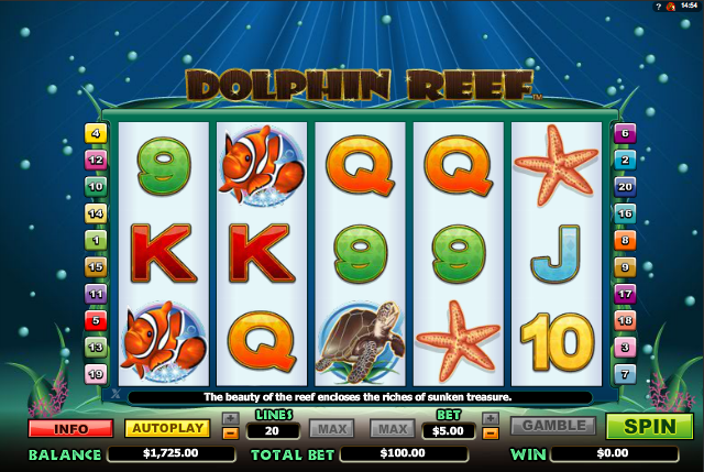 Blue Dolphin Slot - Review & Play this Online Casino Game