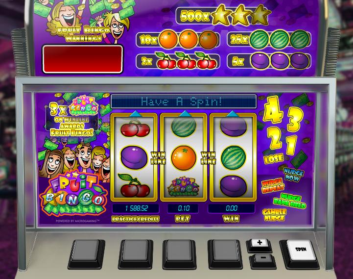 fruit bingo screenshot