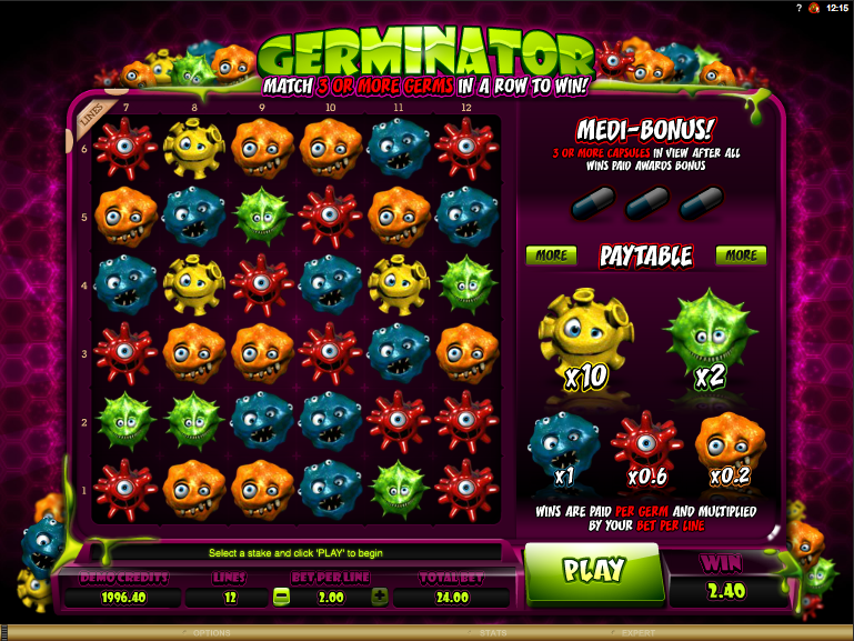 germinator screenshot