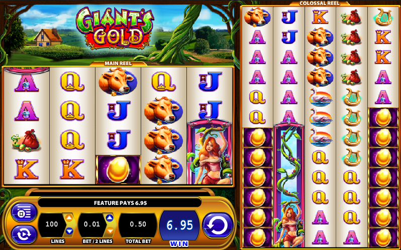 Play Giant's Gold and other games at Casumo.com