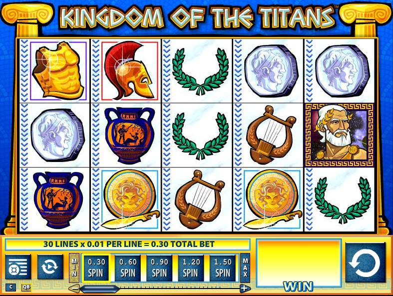 Gods & Titans Slot - Play Online & Win Real Money