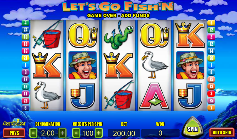 lets go fish'n slot
