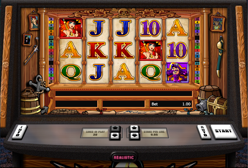 pirate radio casino games