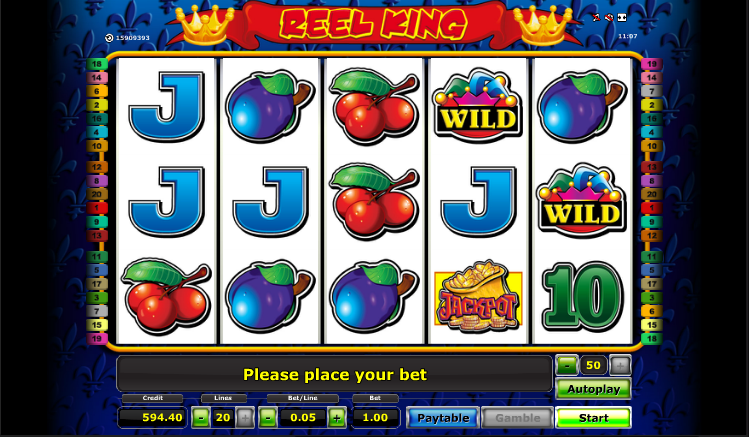 slot game online reel king