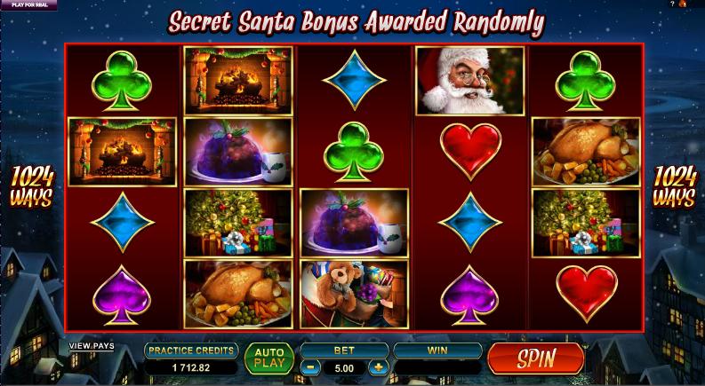 secret santa slot