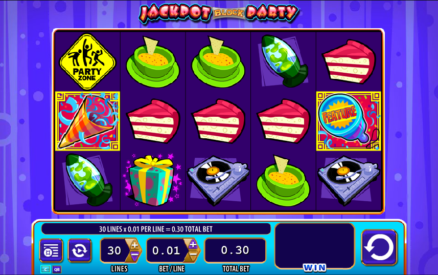 super jackpot block party screenshot