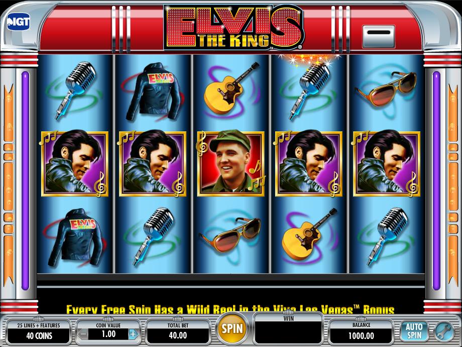 elvis the king slot