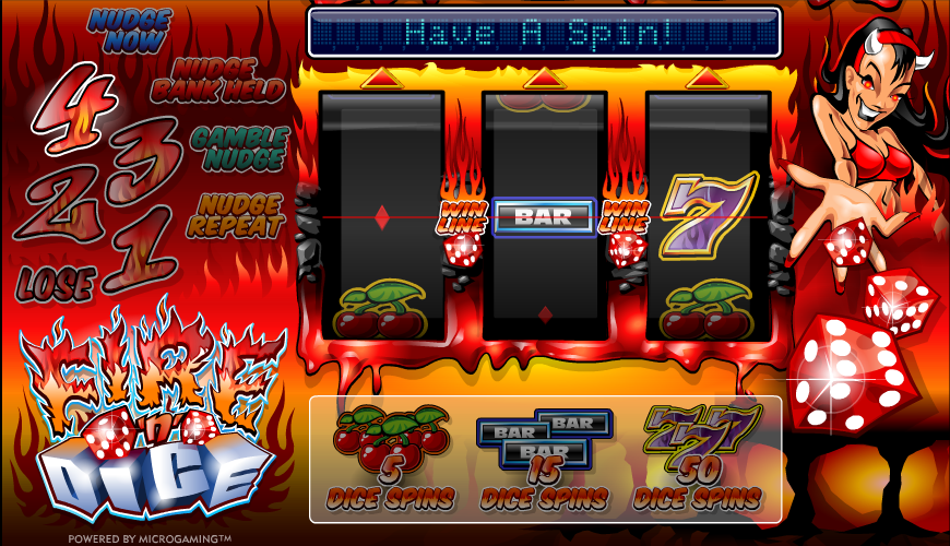 online slot machine games dice and roll