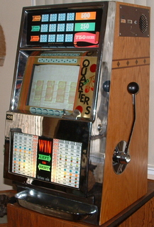 An early Fortune Coin Co. video slot