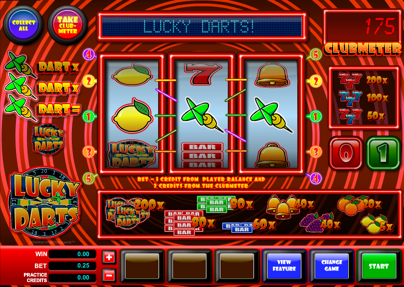 lucky darts screenshot