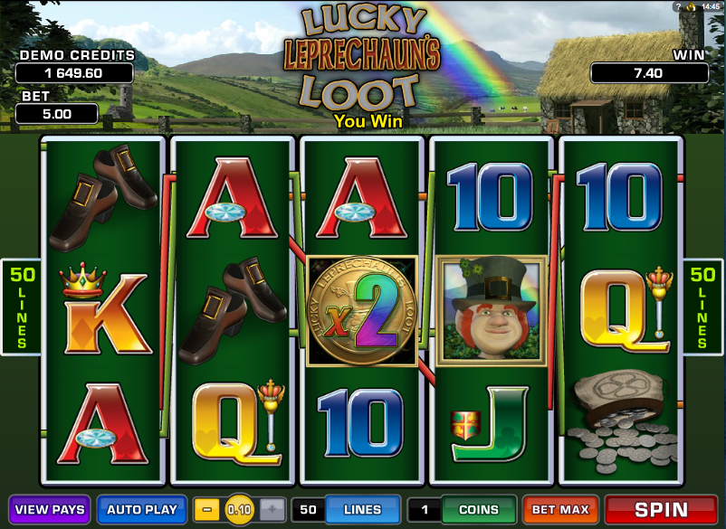 lucky leprechaun's loot slot review