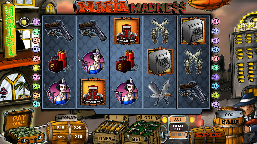 mafia madness slot review