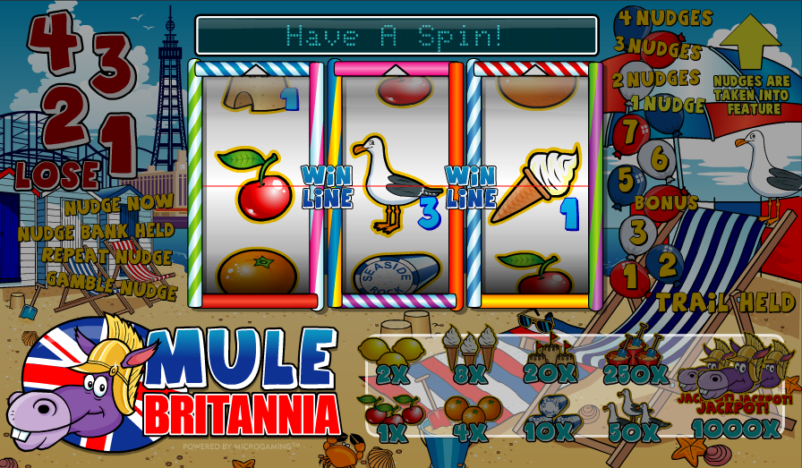 mule britannia slot review