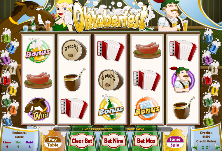 oktoberfest slot review