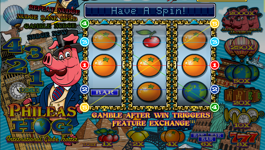 phileas hog slot review