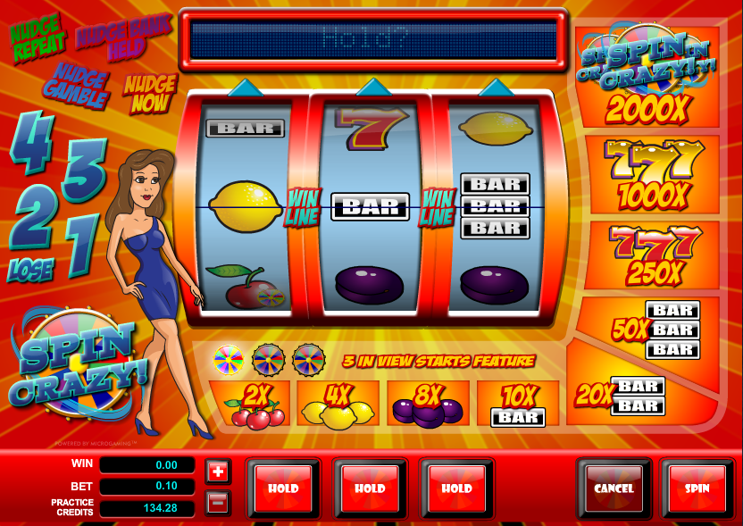 spin crazy slot review