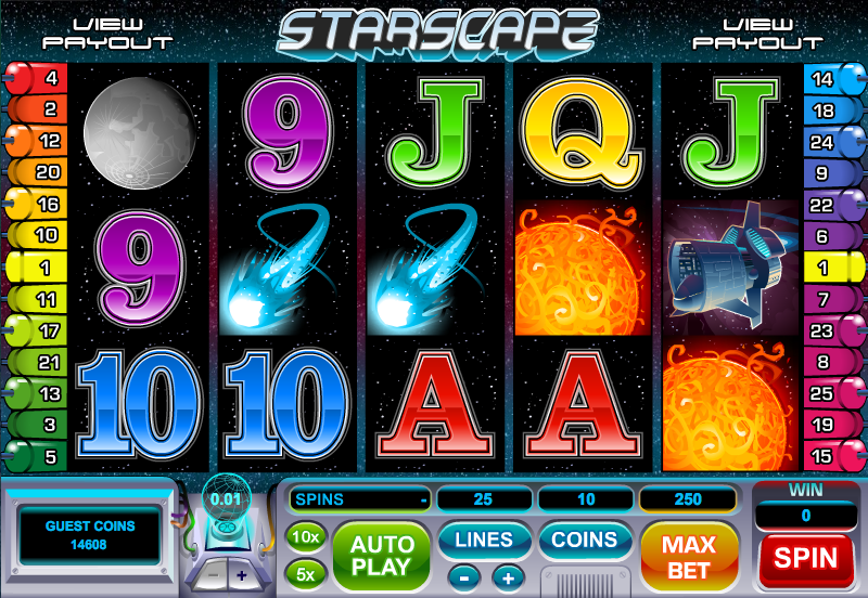 starscape slot review