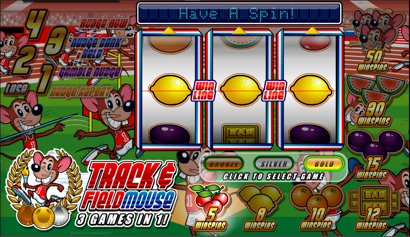 track & field mouse slot review