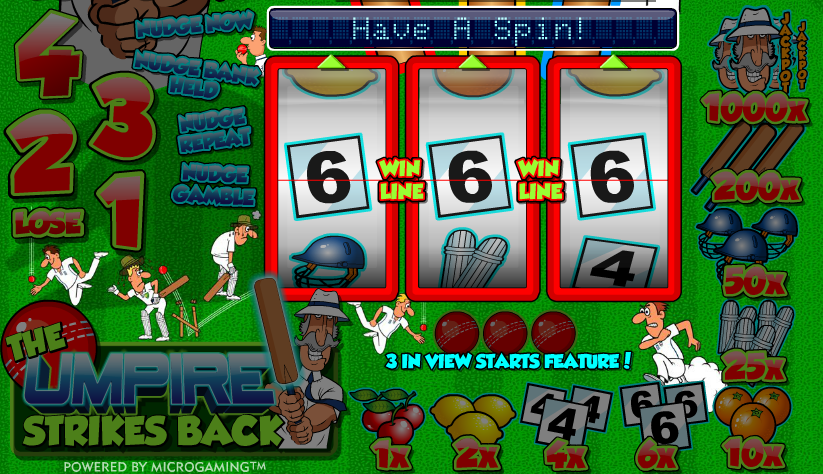 The Umpire Strikes Back Slot Machine - Play Online for Free