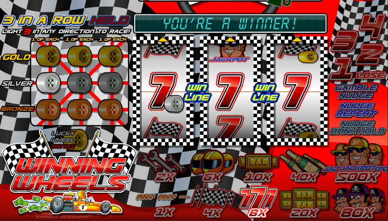 winning wheels screenshot