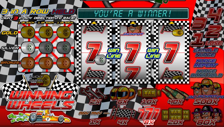 Winning Wheels™ Slot Machine Game to Play Free in Microgamings Online Casinos