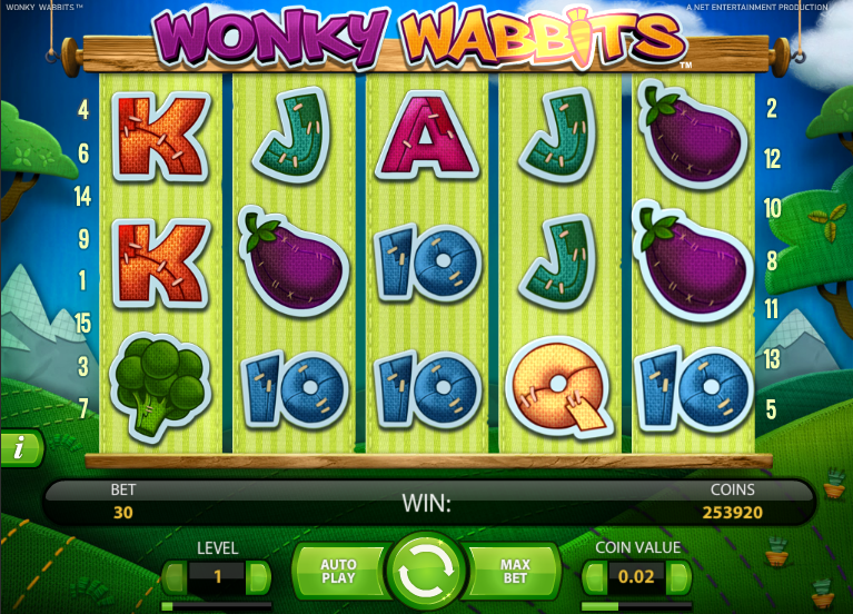 online casino slot machines wonky