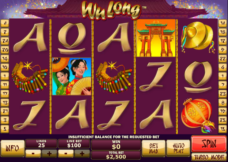 wu long slot review