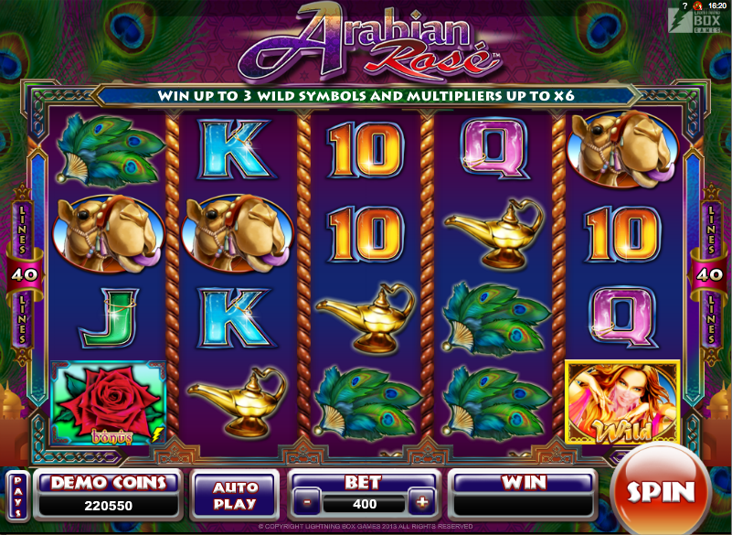 Arabian Oasis Slots - Try the Online Game for Free Now