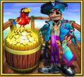 captain jackpot parrot