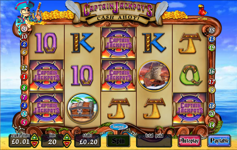 captain jackpots screenshot