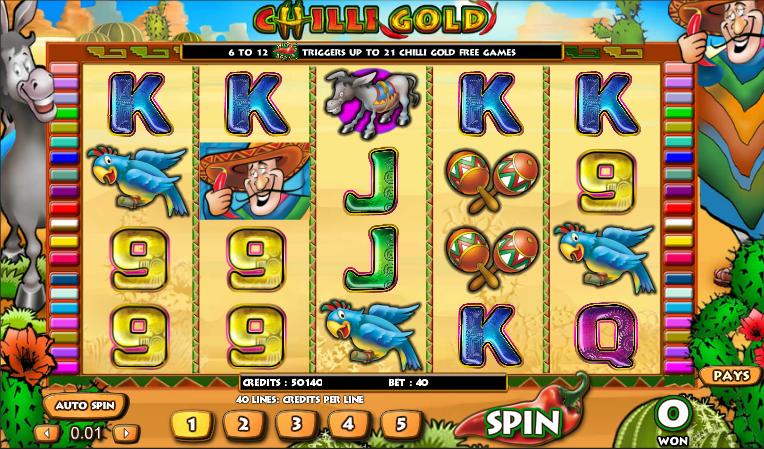chilli gold slot review