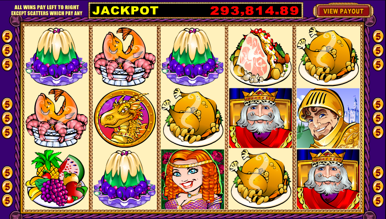 King the Lionheart Slots - Play for Free or Real Money