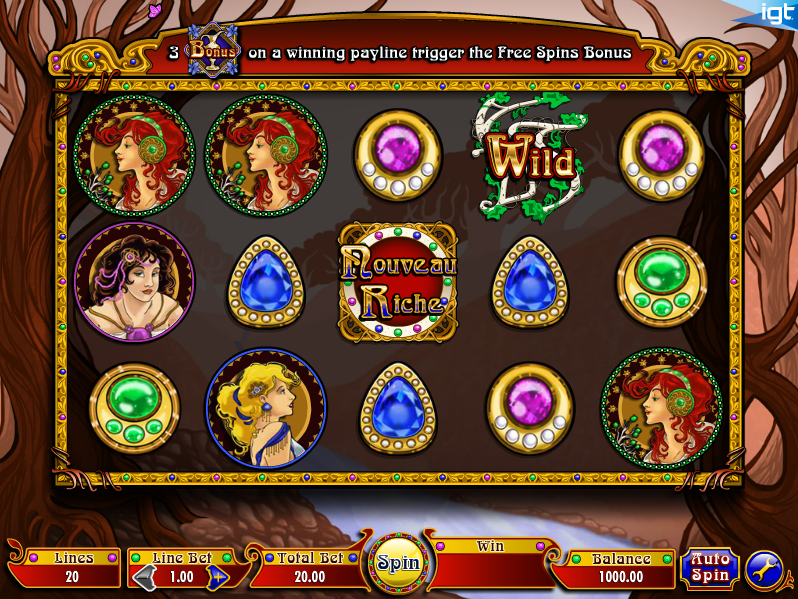 nouveau riche screenshot