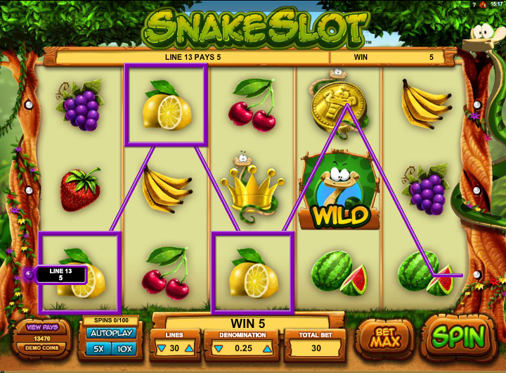 snake slot review