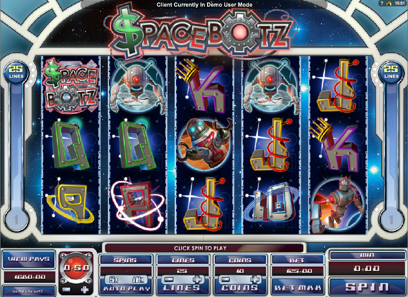 Space Botz Slot - Play Online for Free or Real Money