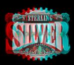 Sterling Silver 3D symbol