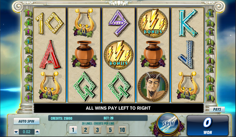 Zeus Slots Free Play & Real Money Casinos