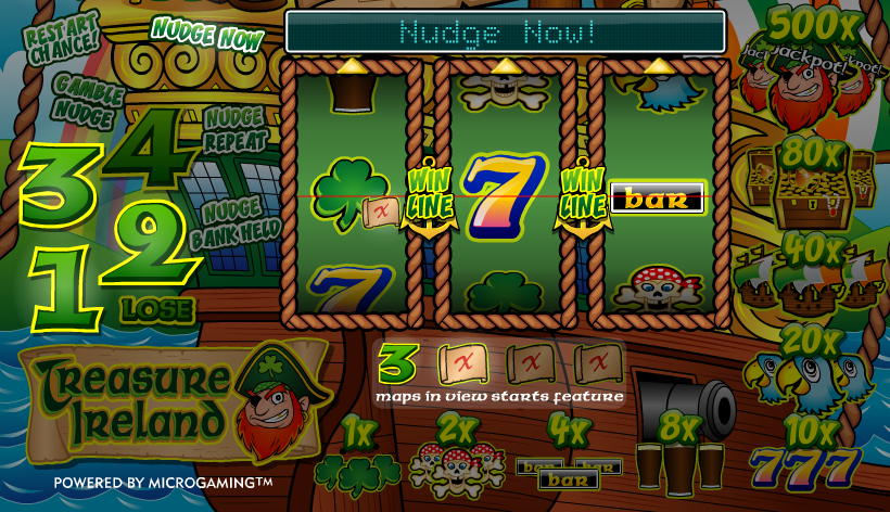 treasure ireland slot review