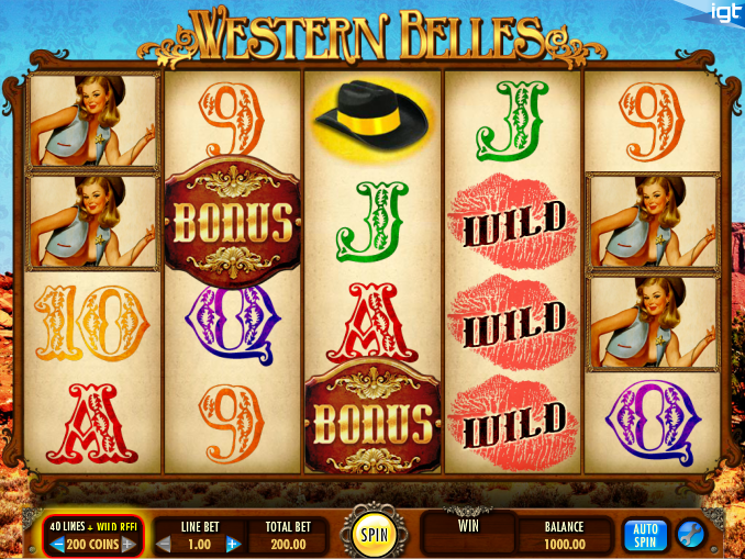 western belles screenshot