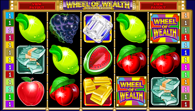 wheel of wealth screenshot