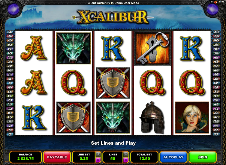 xcalibur slot review